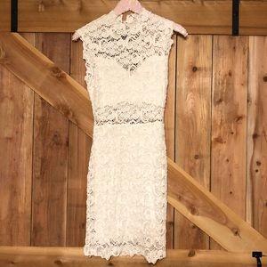 Nightcap Clothing Dixie Lace Cutout Dress sz 3